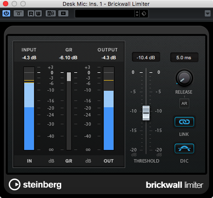 Brickwall Limiter