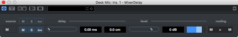 MixerDelay