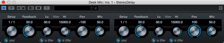 StereoDelay