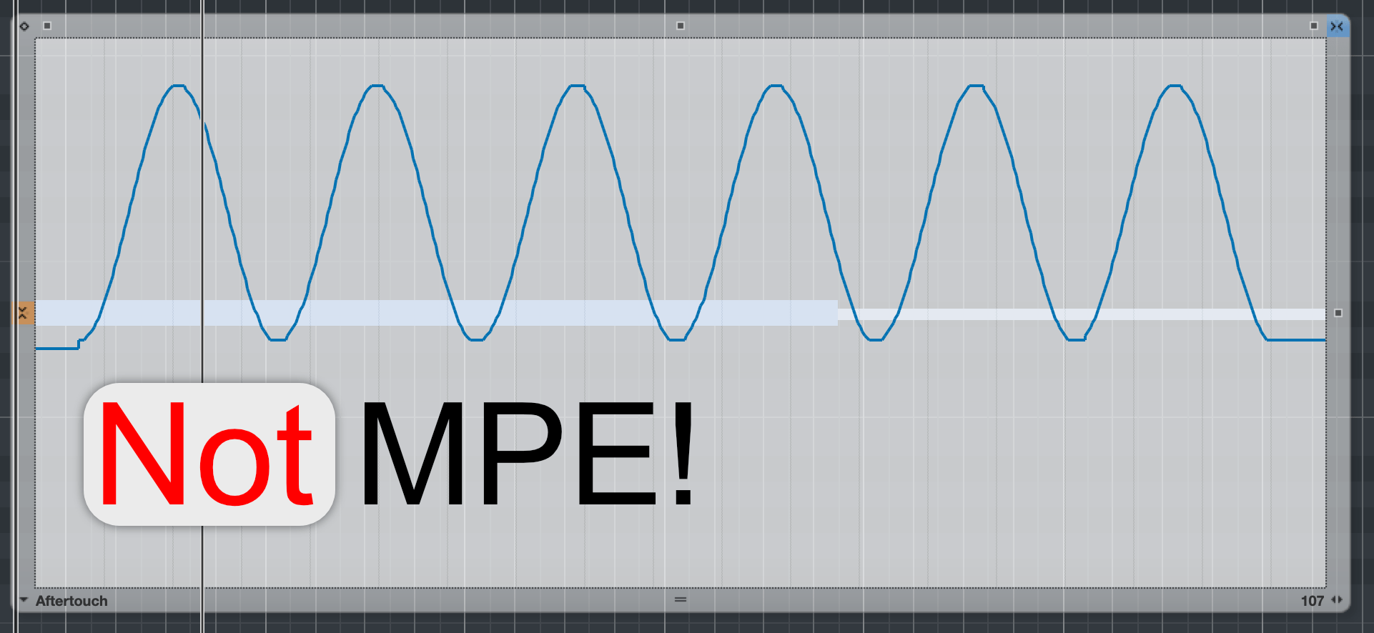Not MPE, but VST Expression