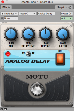AnalogDelay