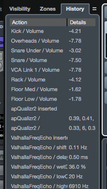 Mixer undo in Cubase