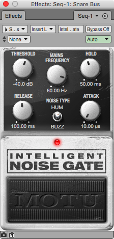 IntelligentNoiseGate