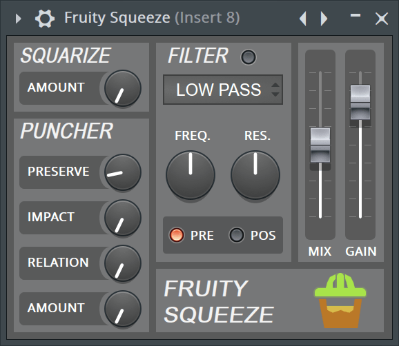 Fruity Squeeze