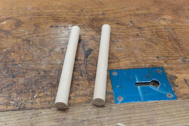 Made dowels