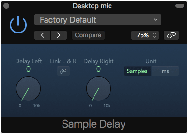 Sample Delay
