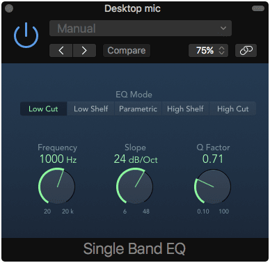 Single Band EQ