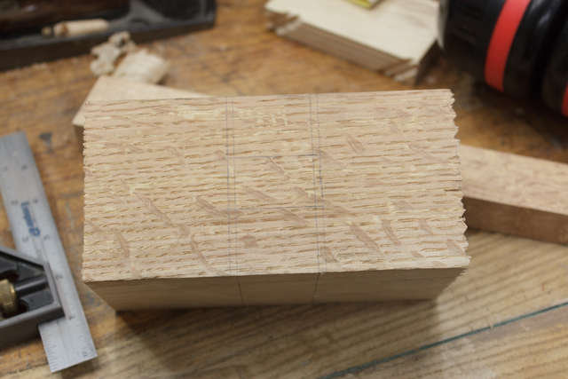 Layout the mortise
