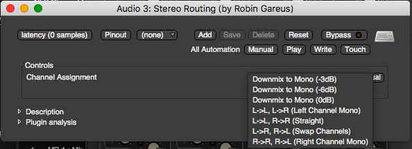 Stereo Routing
