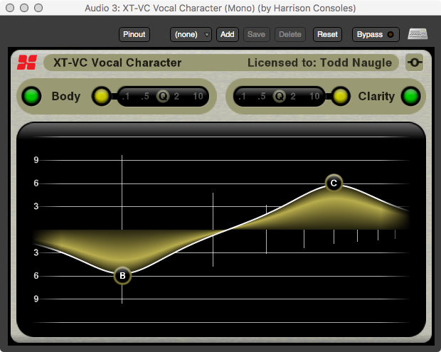 XT-VC Vocal Character