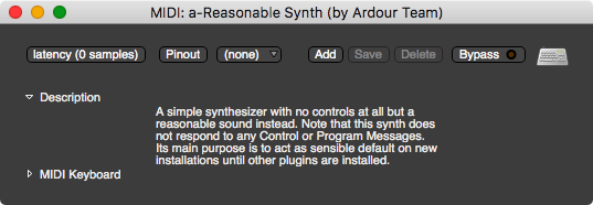 a-Reasonable Synth