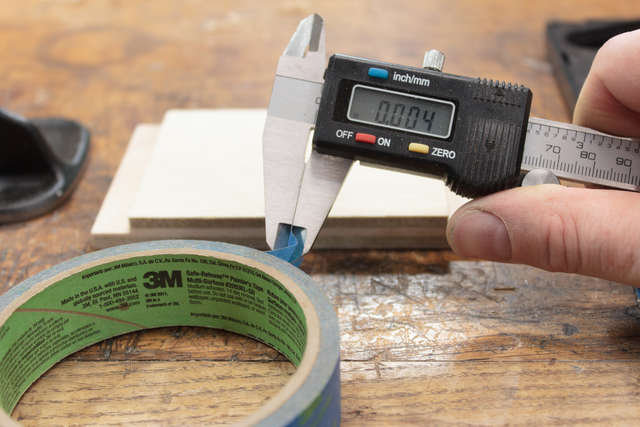 Thickness of tape