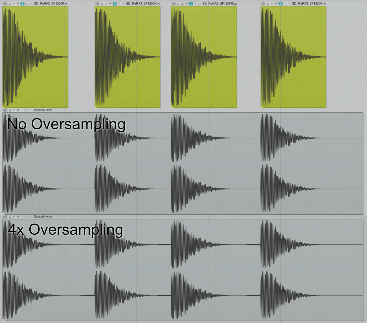 Snare Oversampled