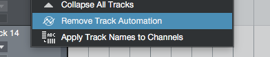 Remove Track Automation