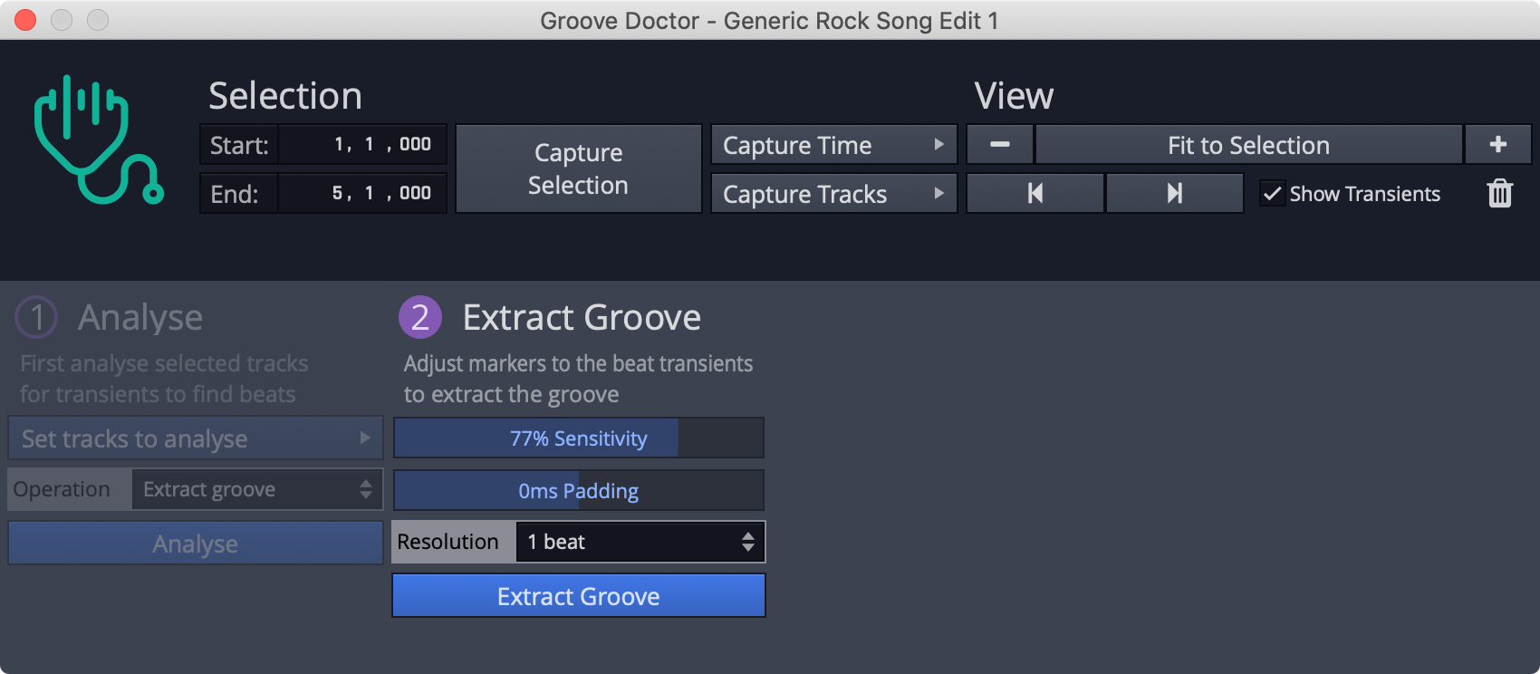 Extract Groove
