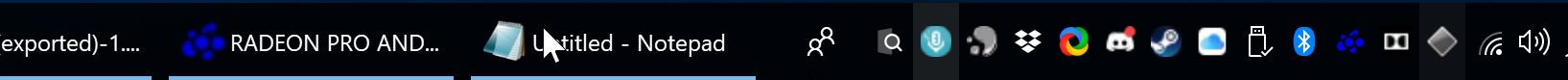 Taskbar is a terrible design.